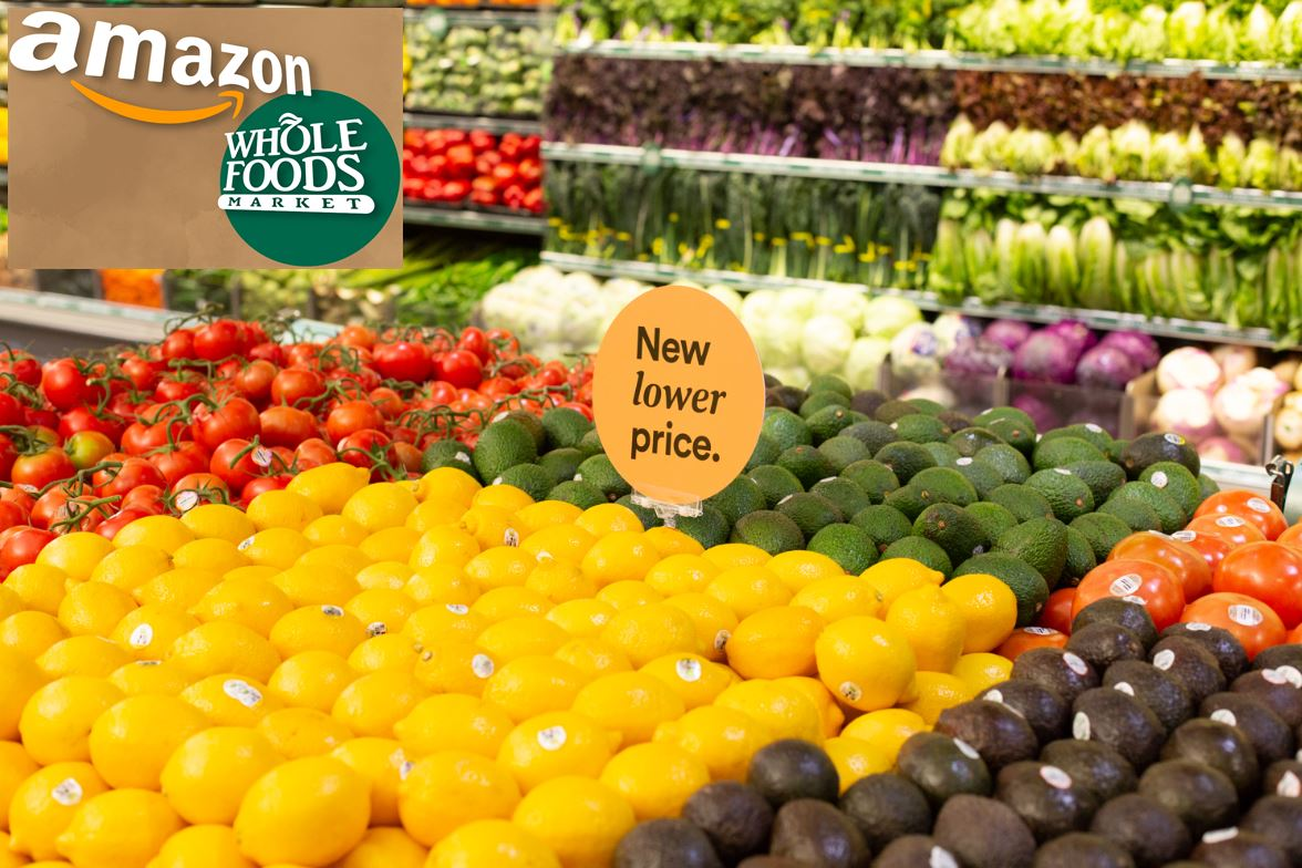 Amazon and Whole Food Will Slash Prices on Hundreds of Items for the Third Time