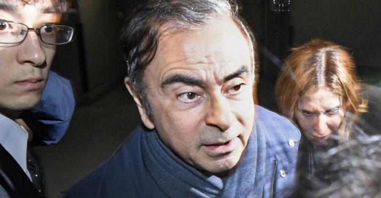 Tokyo Prosecutors Arrested Ghosn for the Fourth Time, and Before Press Conference