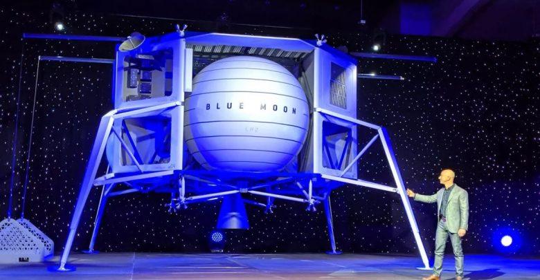 Jeff Bezos Exposed New Plans for Blue Origin's Blue Moon Lunar Lander