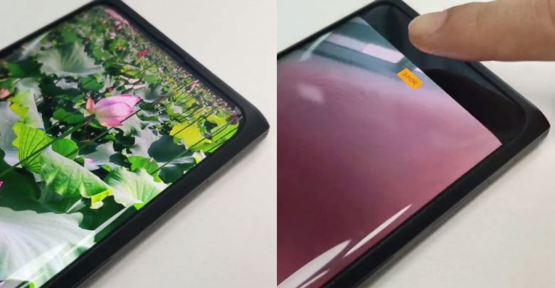 Oppo Shows-Off A Smartphone with Under-Display Selfie Camera and a Seamless Display