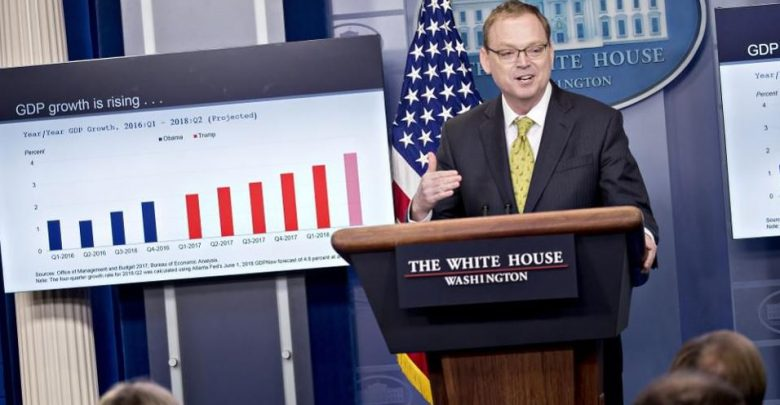Trump Announces Kevin Hassett, Economic Advisor of White House Will Go Away Soon