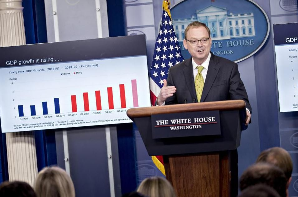 Trump Announces Kevin Hassett, Economic Advisor of White House Will Go Away Soon