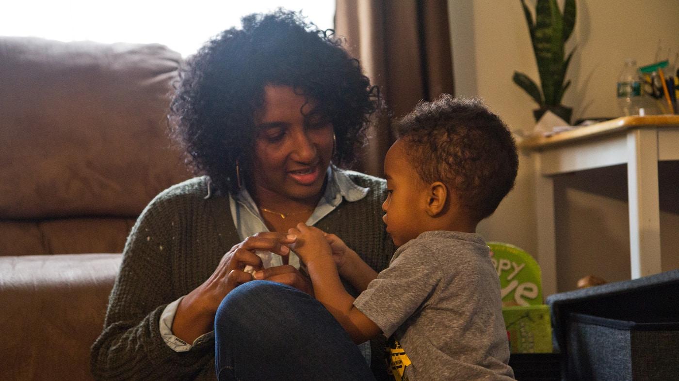 Black mothers receive less treatment for postpartum depression.