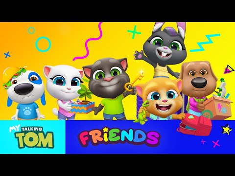 PRE-LAUNCH RECORD REGISTRATION OUTFIT7 'S NEW GAME MY FRIENDS TALKING TOM