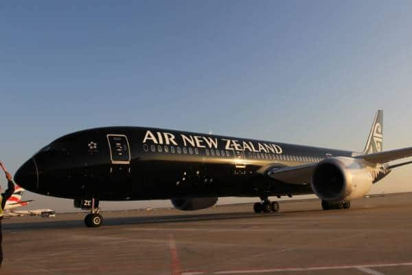 Air New Zealand maintains new flight reservations