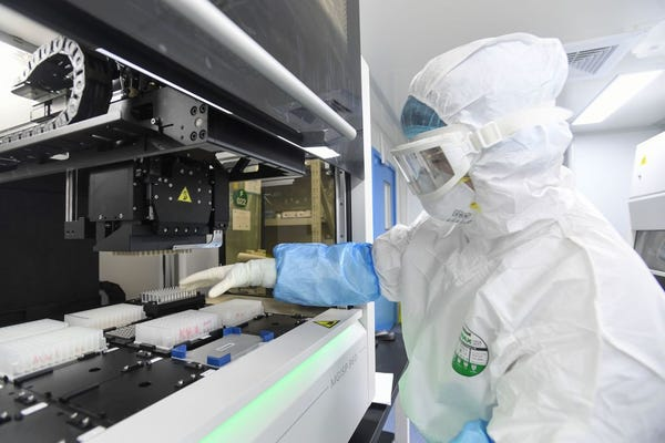 China offers inside the laboratory near the origin of the Wuhan virus
