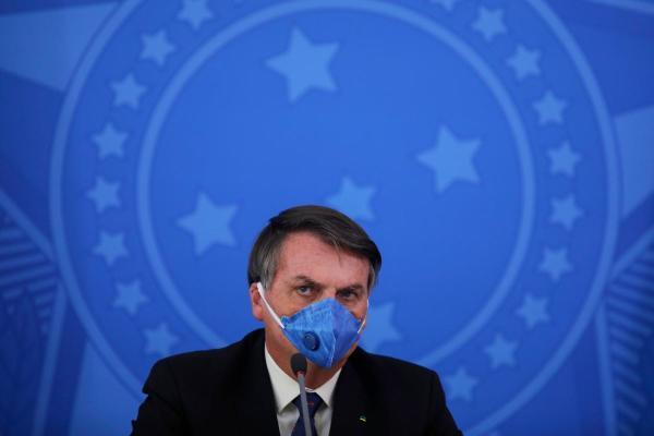 Jair Bolsonaro, Brazil's president, says lungs 'clean' after coronavirus test