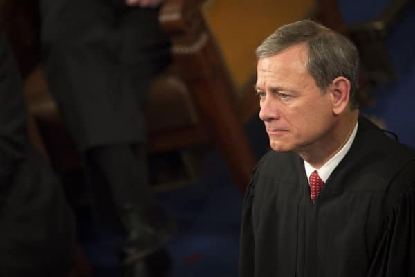 US Chief Justice John Roberts was briefly treated in June after a facial injury
