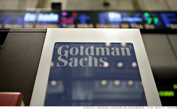 Goldman Sachs Face Record Fine