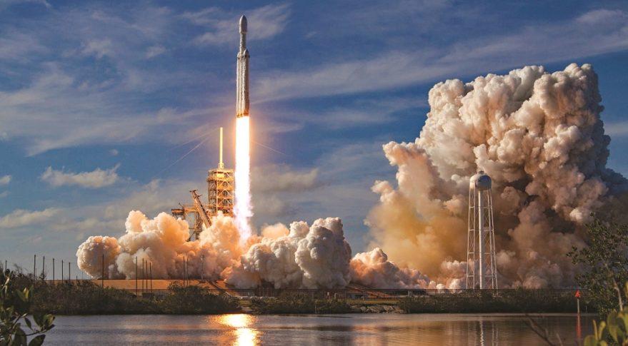 NASA Launches On Moon