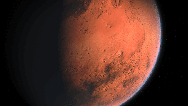 Vapor Lofted Higher Than Expected On Mars