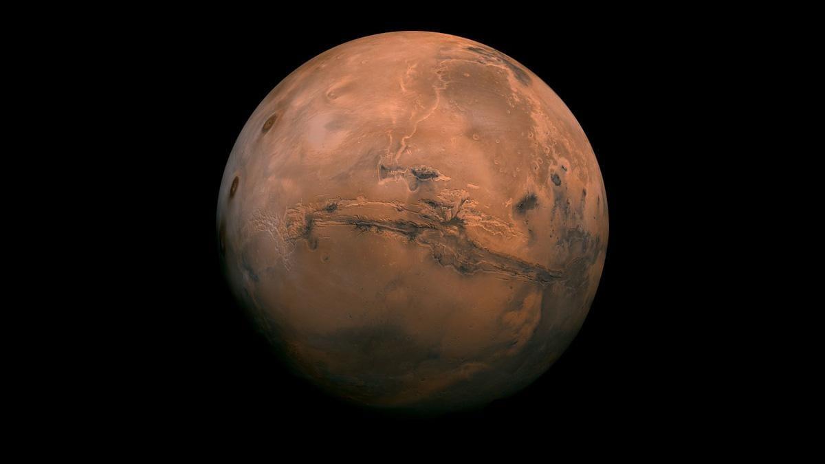 Underground Brine On Mars
