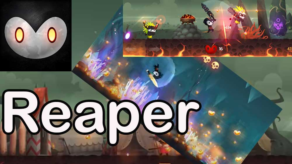 Reaper android game: Tale of a Pale Swordsman