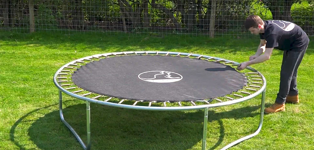 How to Set Up A Professional Trampoline
